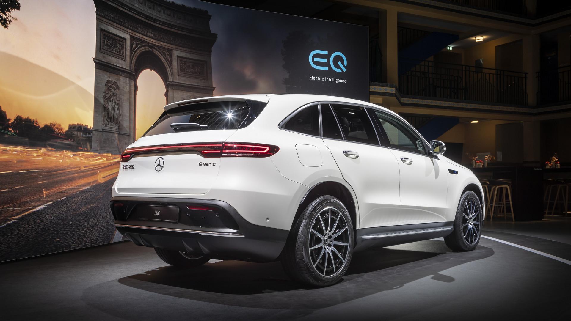 2019 Mercedes-Benz EQC Rear View