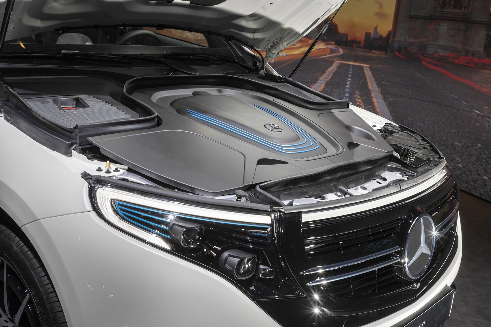 2019 Mercedes-Benz EQC bonnet
