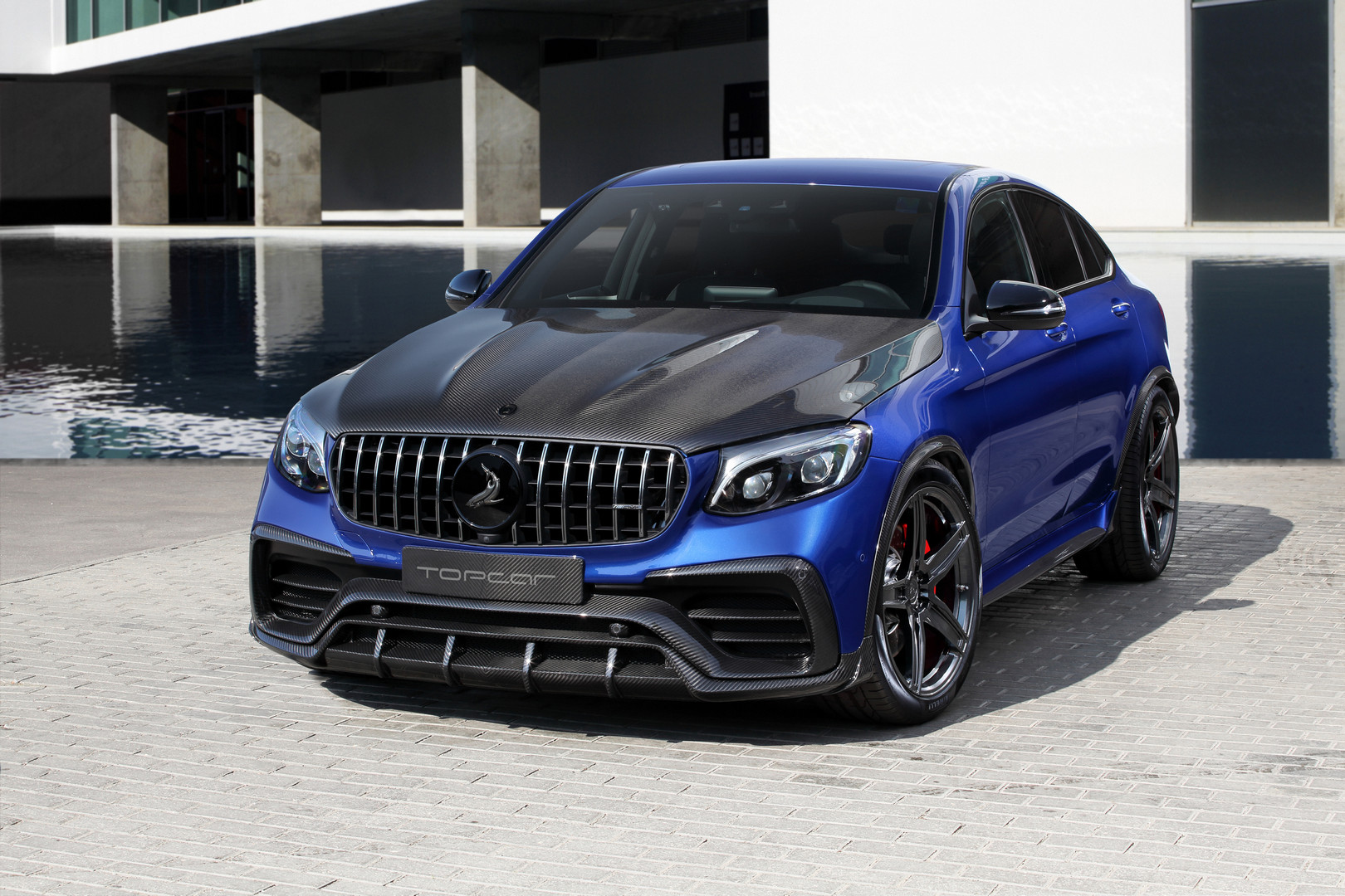 topcar gives mercedes benz glc coupe new look gtspirit. Black Bedroom Furniture Sets. Home Design Ideas