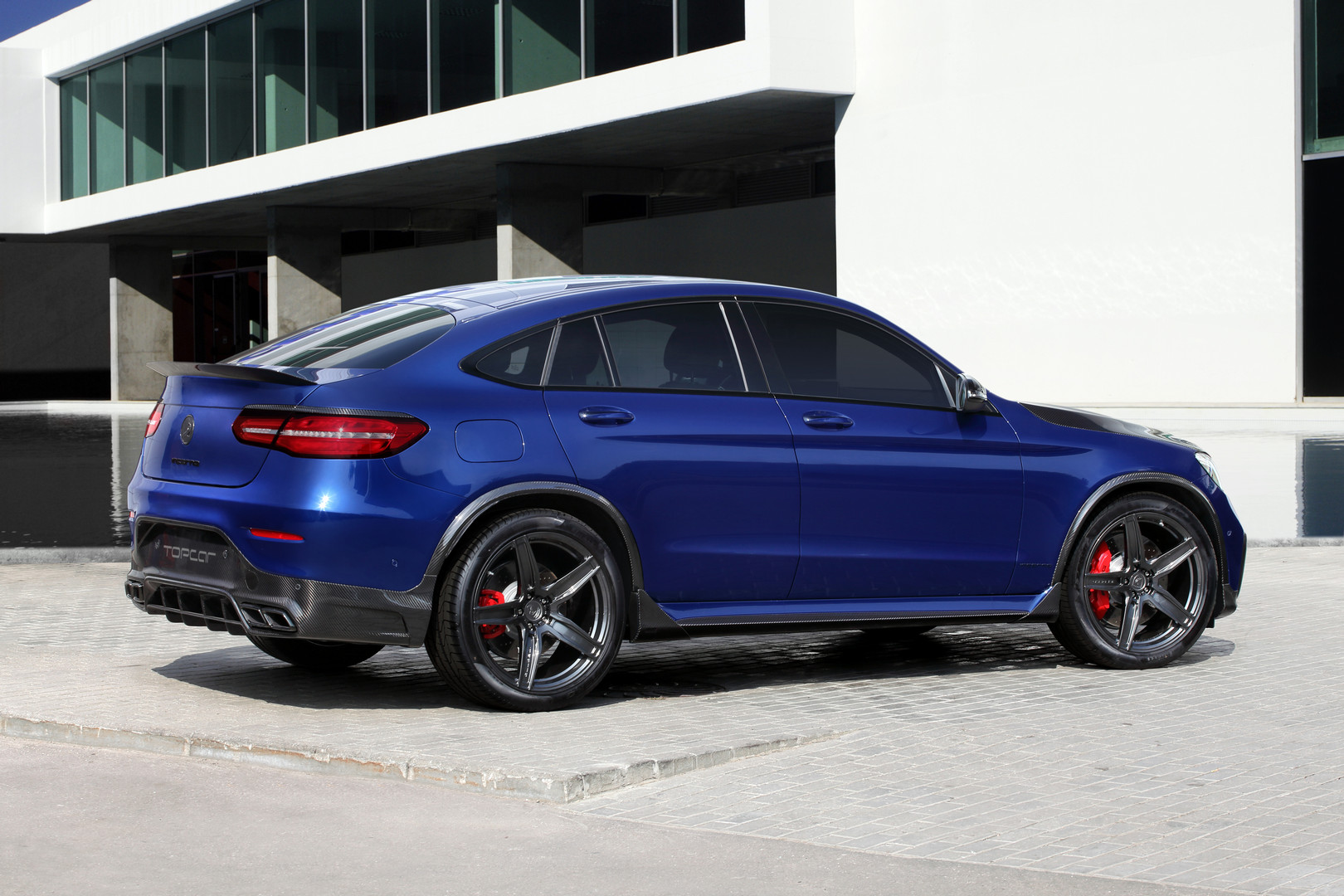 TopCar Gives Mercedes-Benz GLC Coupe New Look - GTspirit