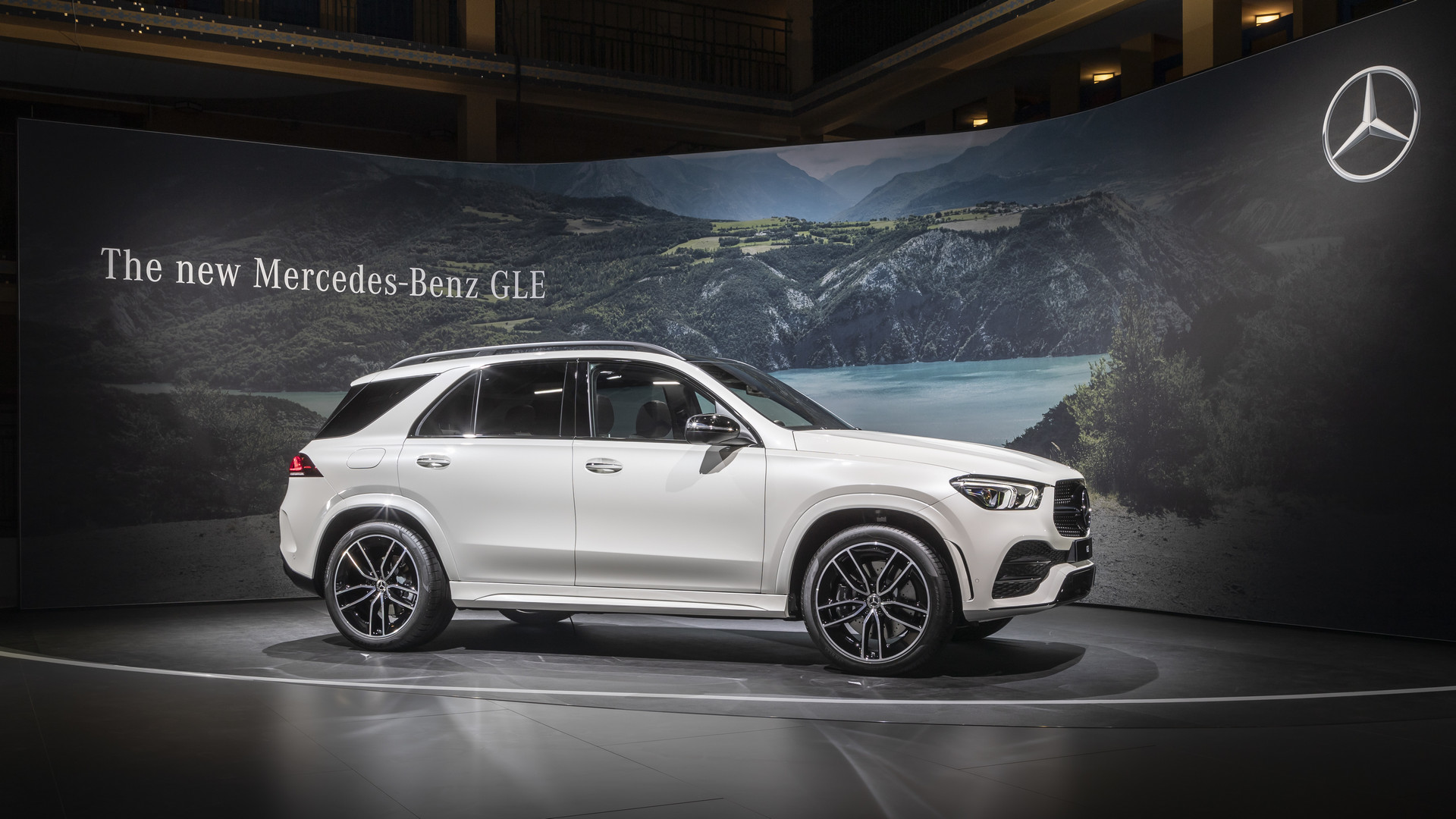 2019 Mercedes-Benz GLE 450 - Side View