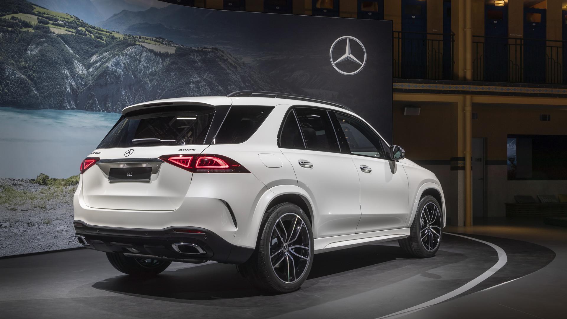 2019 Mercedes-Benz GLE 450 - Rear