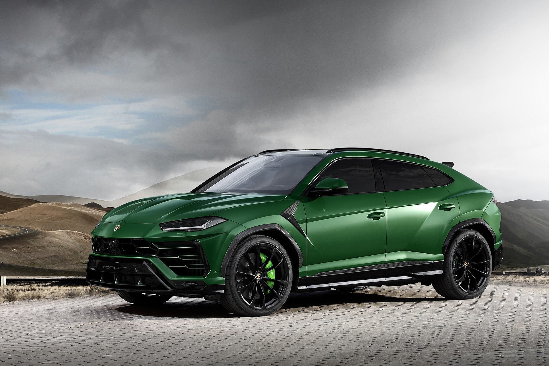 Military Green Lamborghini Urus