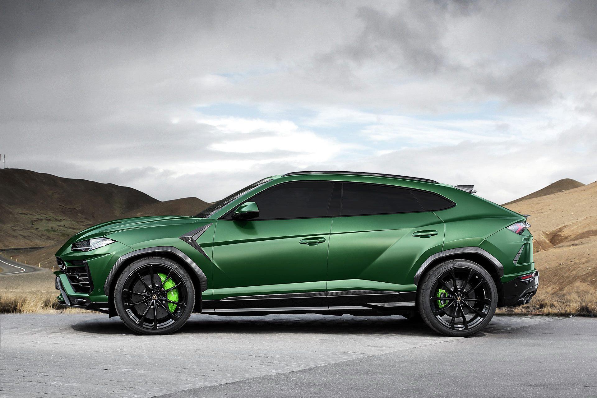 TopCar Lamborghini Urus Revealed With Military Green Paint