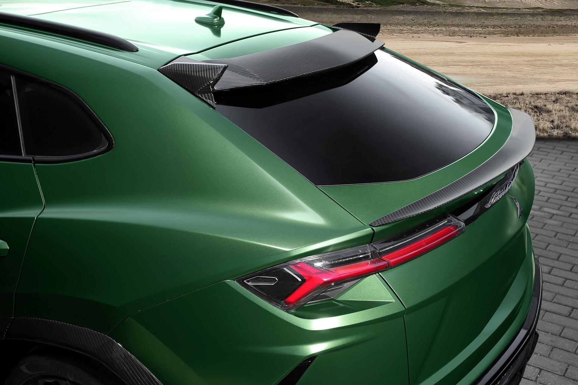 Topcar Lamborghini Urus Revealed With Military Green Paint And Camo