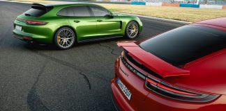 Red Porsche Panamera GTS
