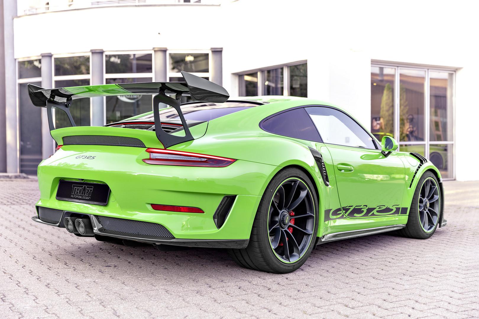 Techart GT3 RS Rear Wing