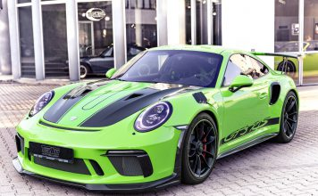 Techart GT3 RS Front View