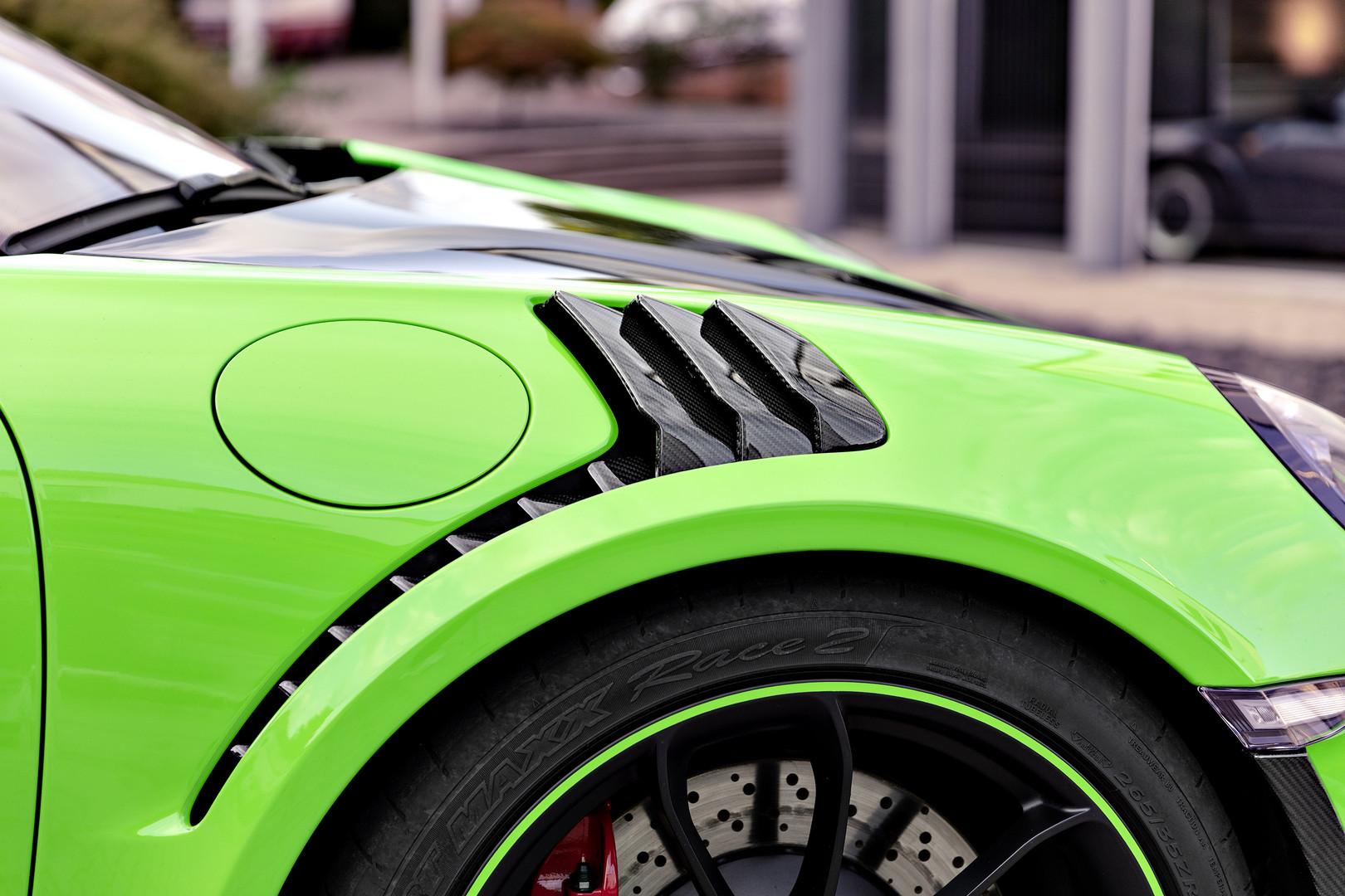 Techart GT3 RS Arc Louvers