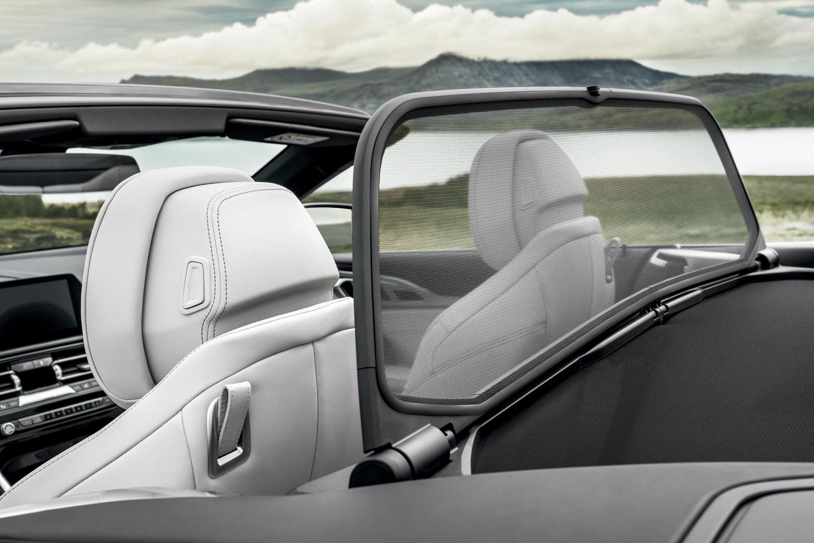 2019 BMW 8 Series Convertible Seats