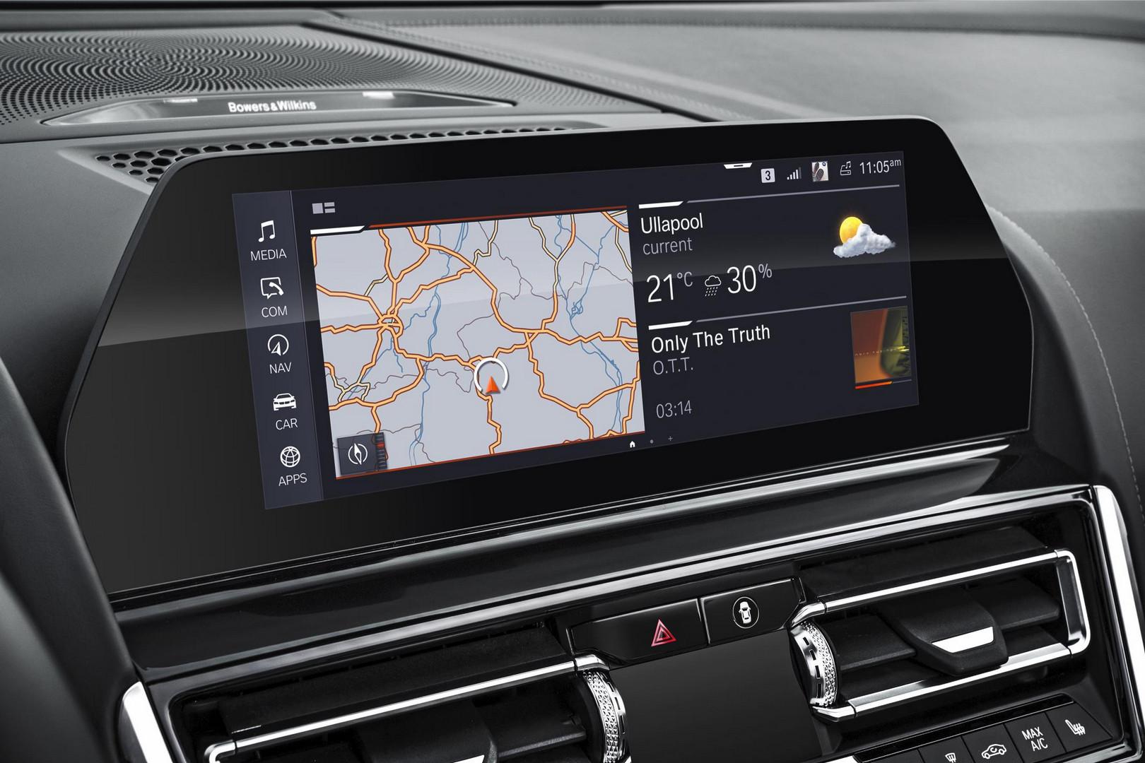2019 BMW 8 Series Convertible Interior