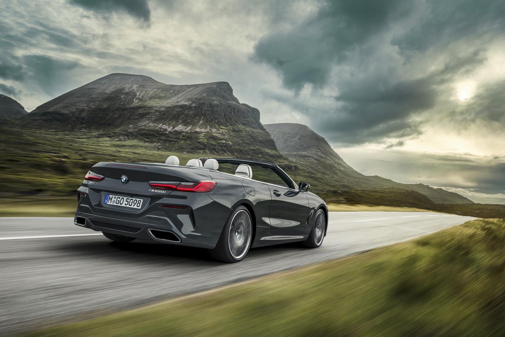 2019 BMW 8 Series Convertible