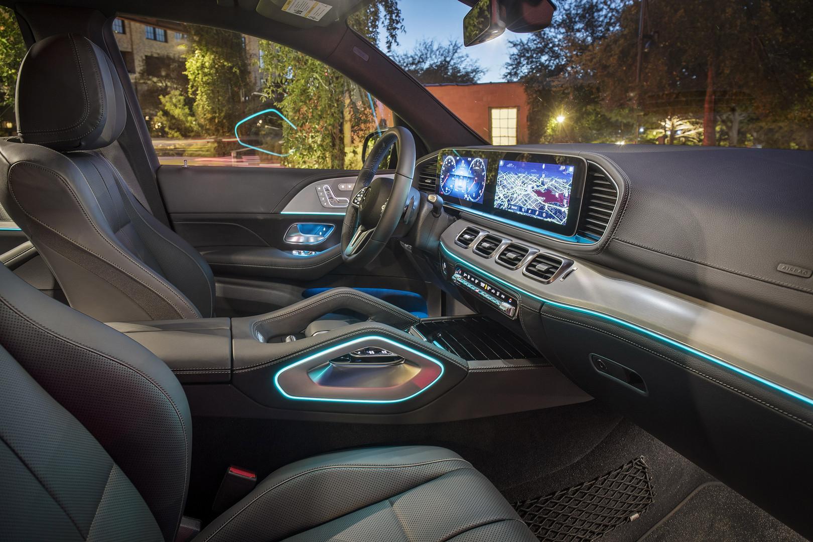 2019 Mercedes-Benz GLE Interior
