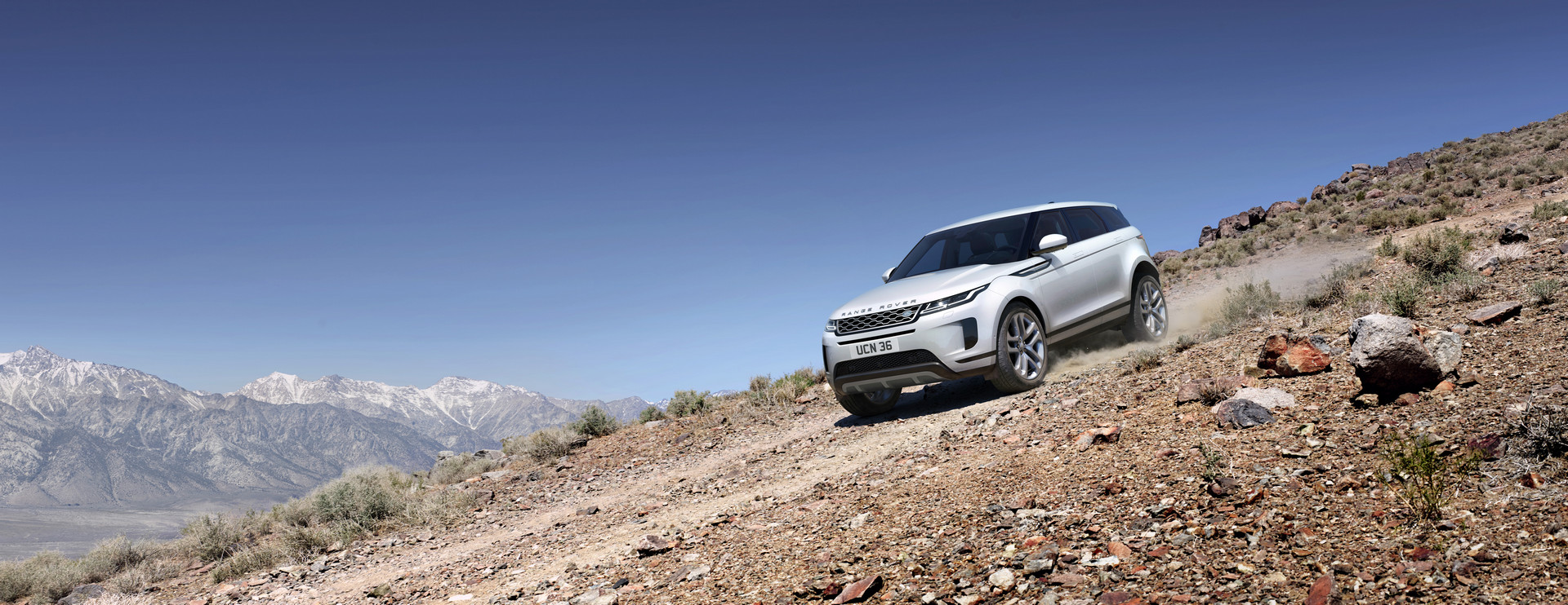 2019 Range Rover Evoque Off-road