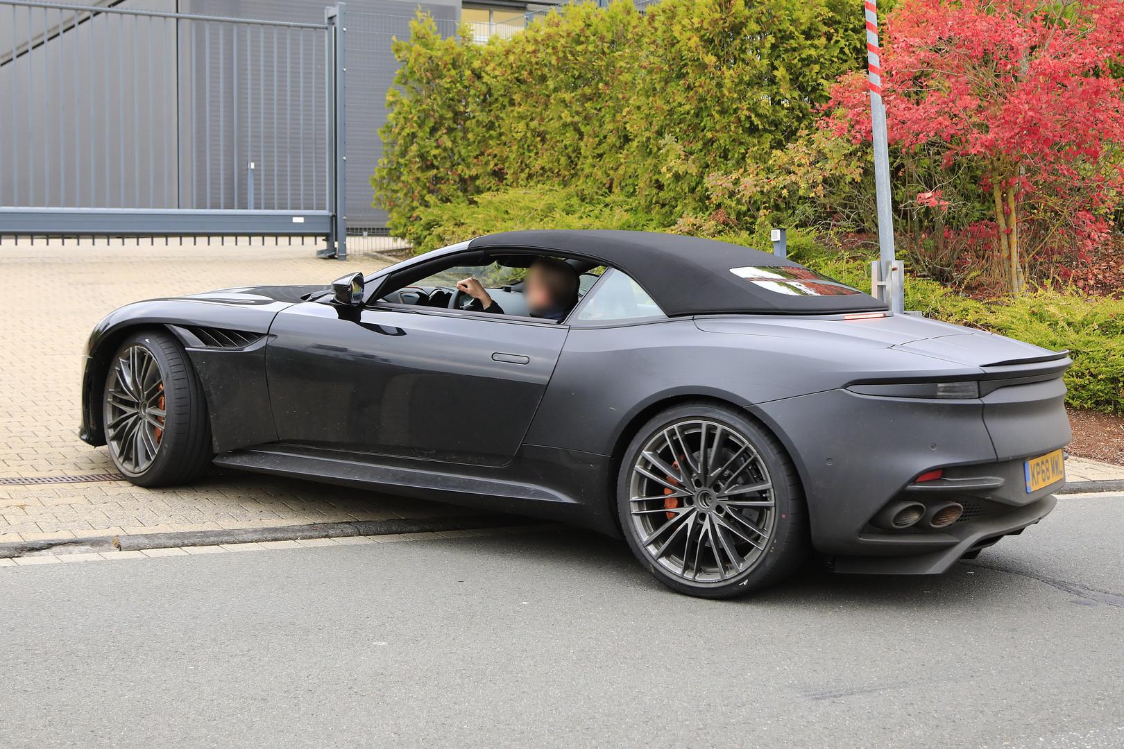 ASTON MARTIN DBS Volante specs & photos - 2009, 2010, 2011 ...  |Aston Martin Dbs Volante
