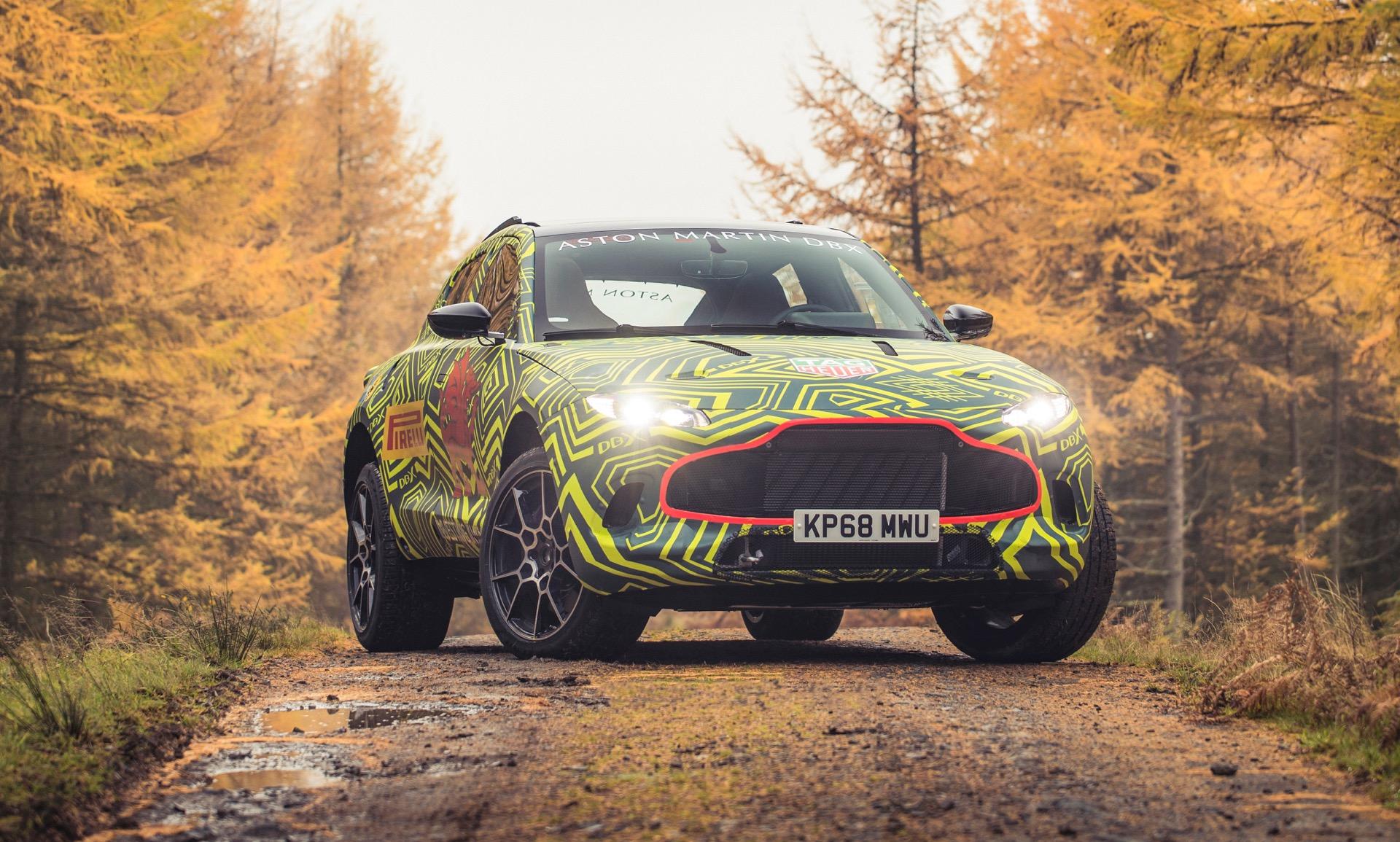 Aston Martin DBX SUV Begins Testing Ahead of 2019 Launch