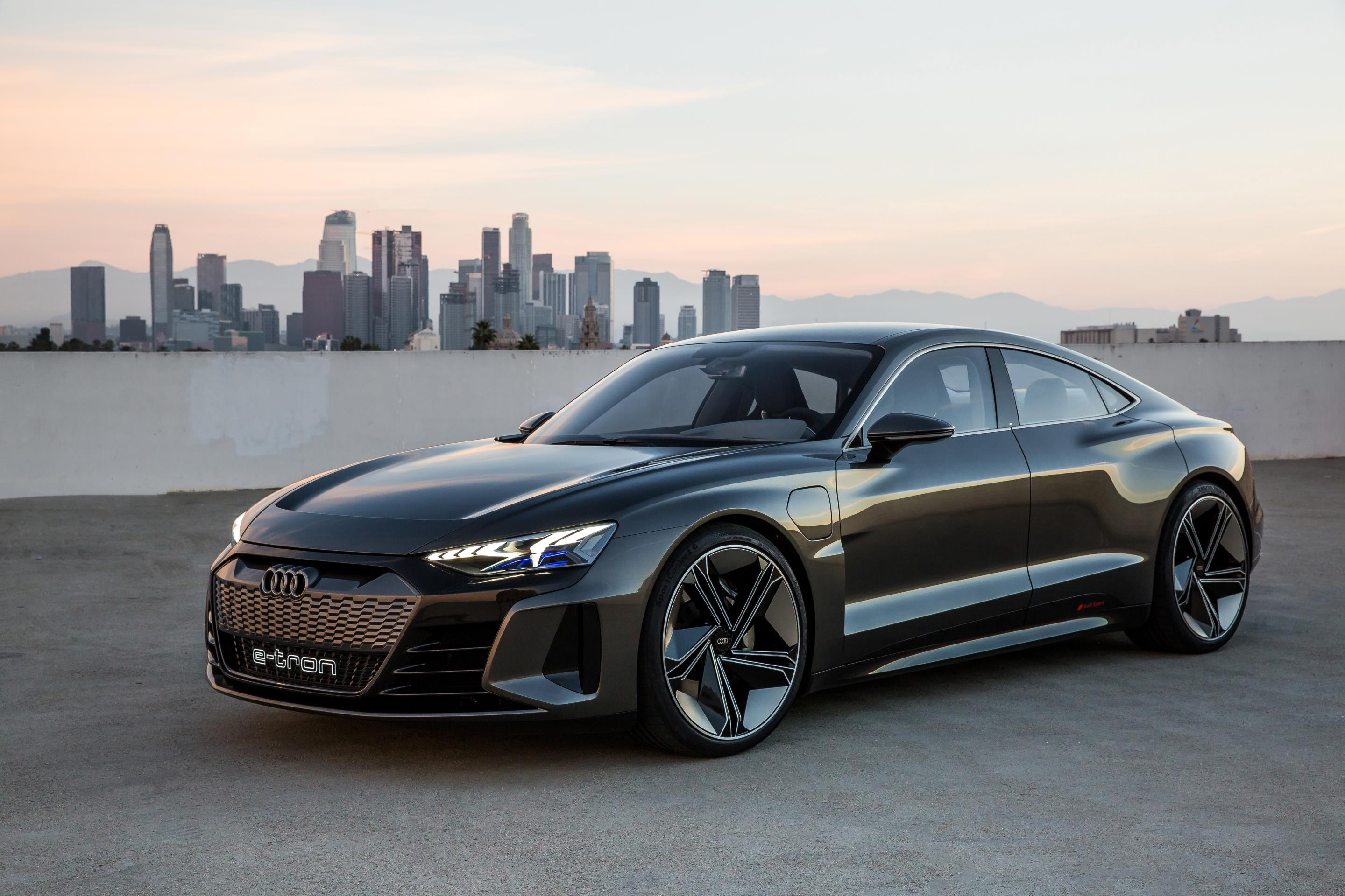 Audi unveils new E-Tron GT Concept electric vehicle
