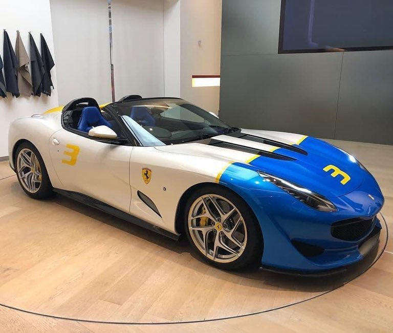 One-Off Ferrari SP3JC Revealed