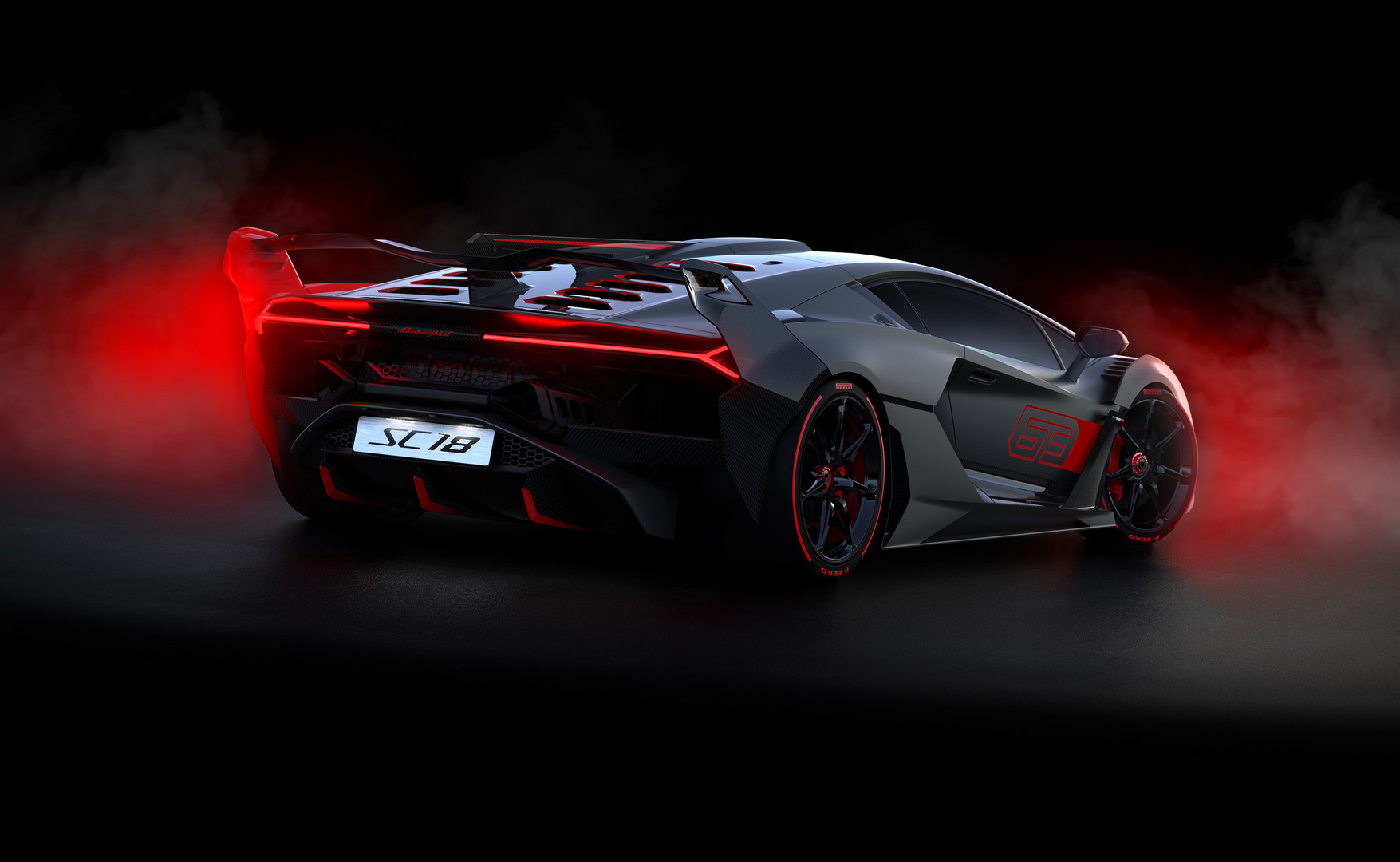 One Off Lamborghini Sc18 Revealed By Squadra Corse Gtspirit