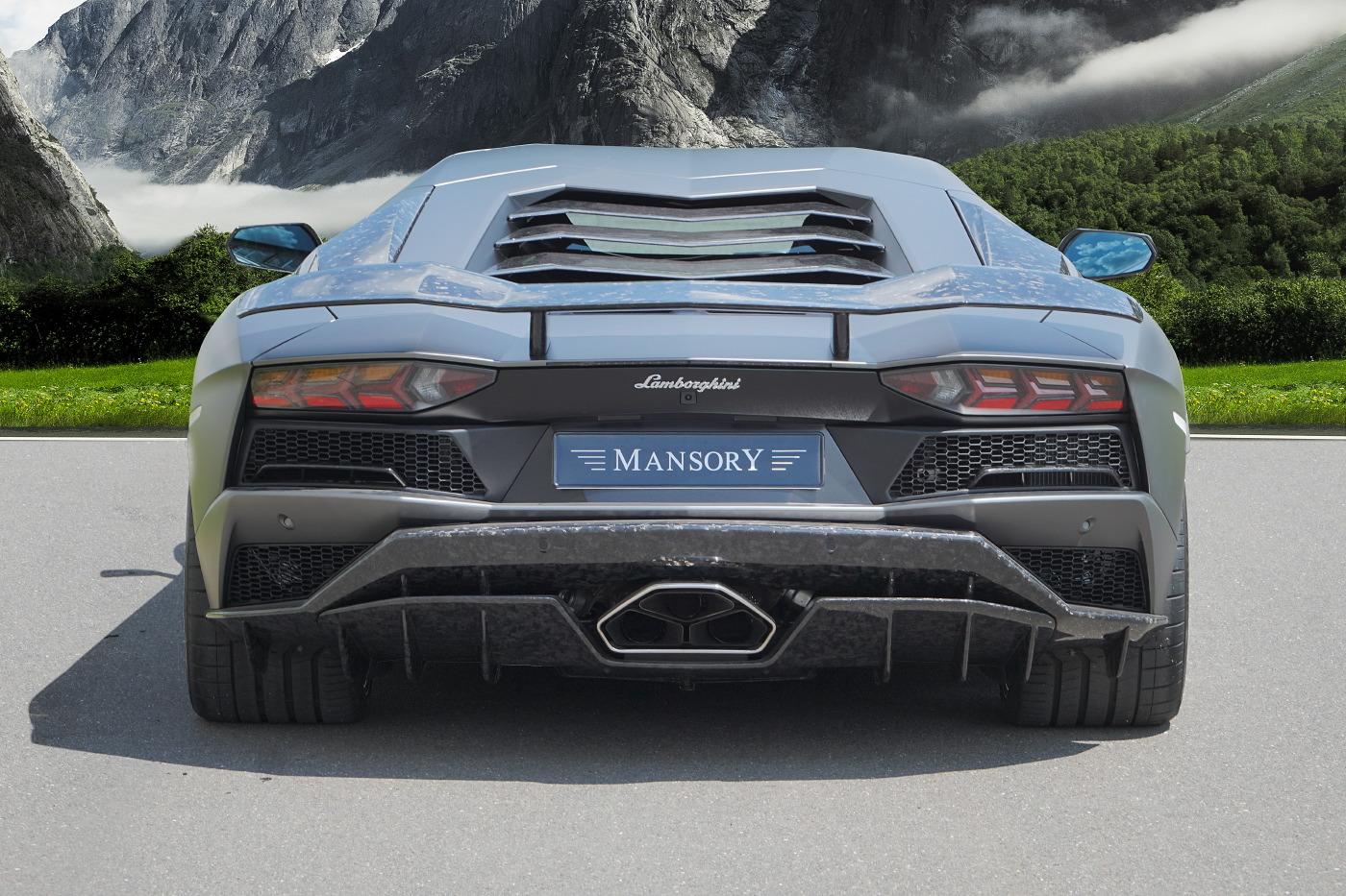 Mansory Lamborghini Aventador S Rear View