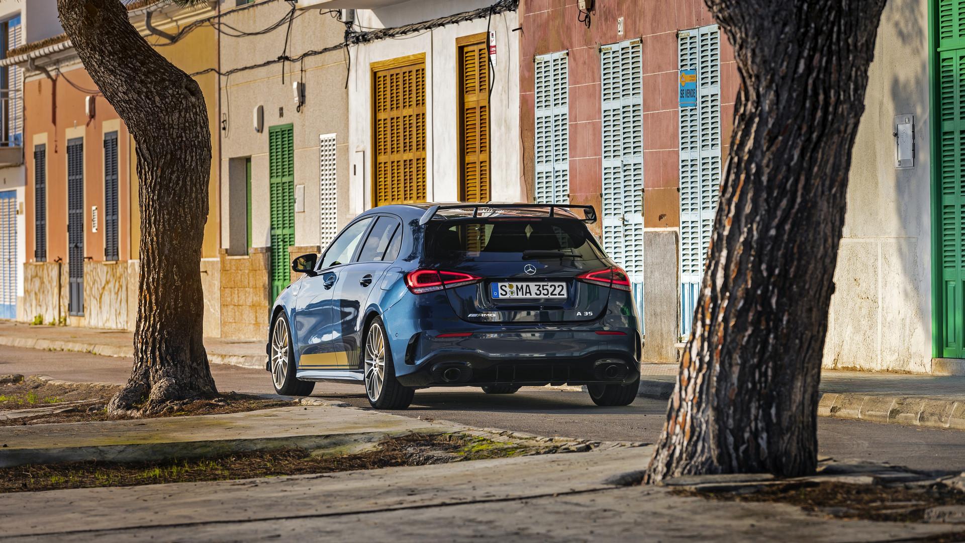 Denim Blue Mercedes-AMG A35 Edition 1