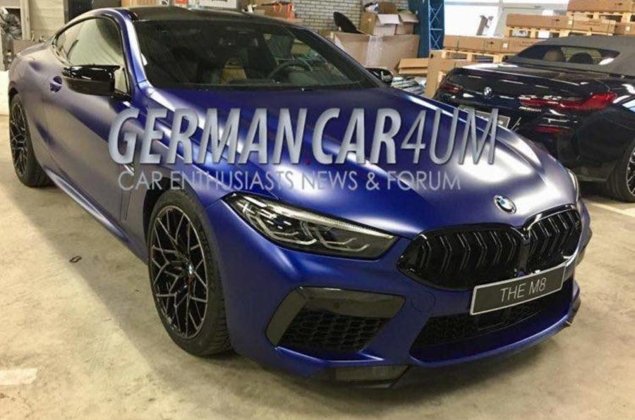 2019 BMW M8 Coupe Images Leaked