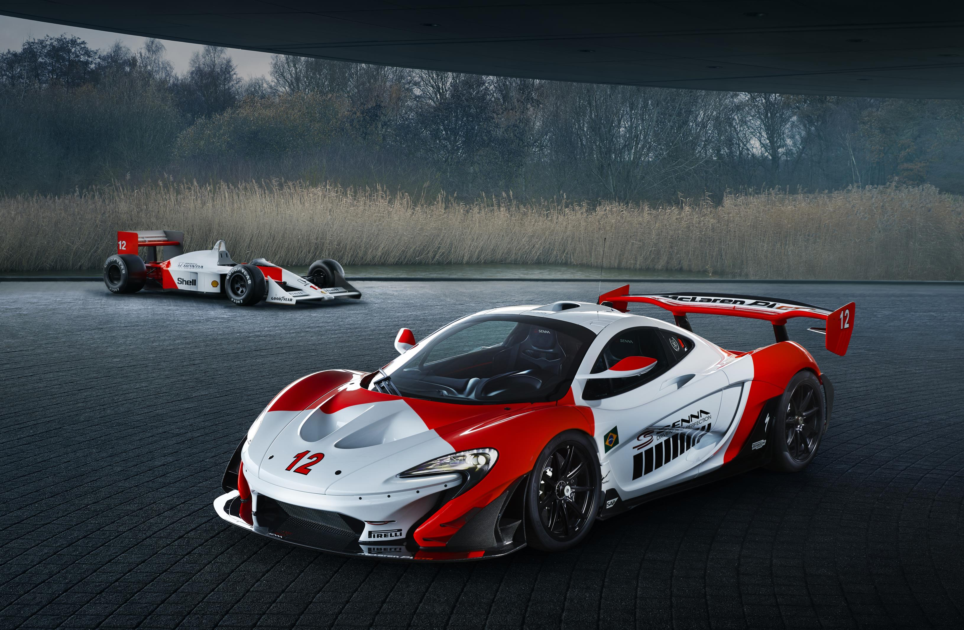 McLaren finishes the unique P1 GTR Beco hypercar wearing Ayrton Senna's colors