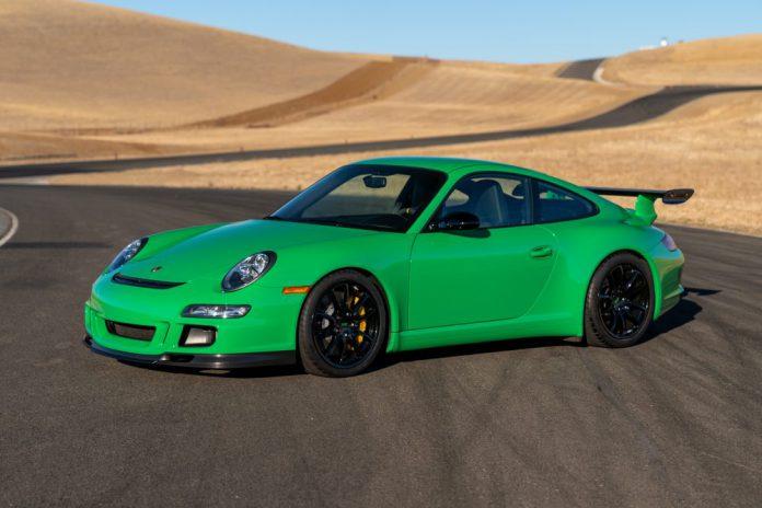 2008 Porsche 911 GT3 RS RS Green