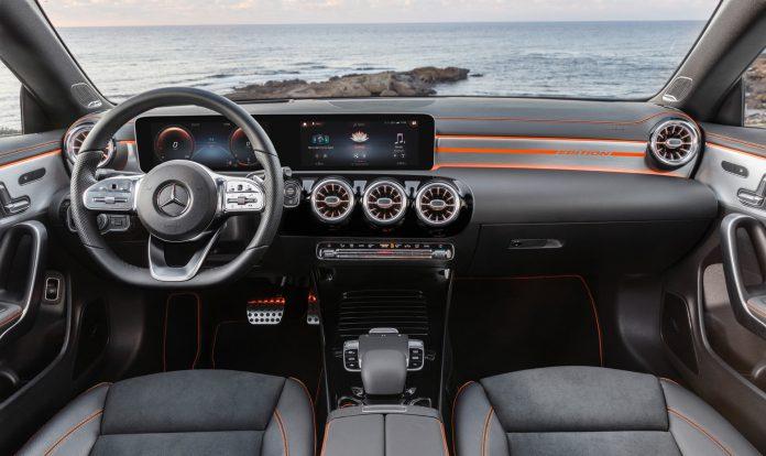 2019 Mercedes-Benz CLA Class Interior