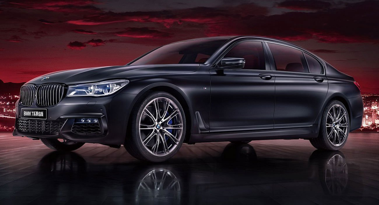 2020 BMW 7 Series Black Fire Edition Revealed for China Only