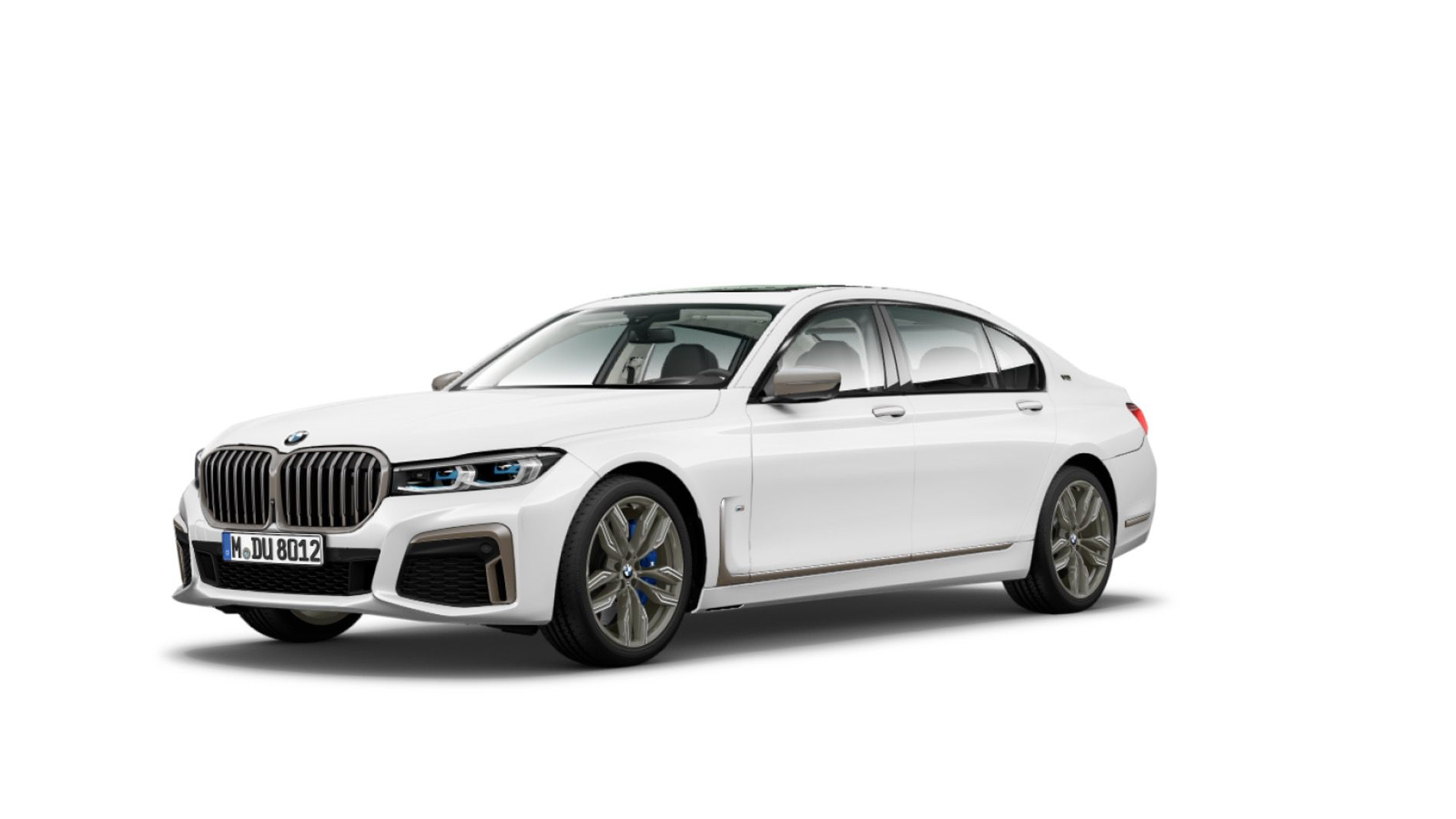 BMW 7 Series Facelift Fully Leaked (Front and Rear)