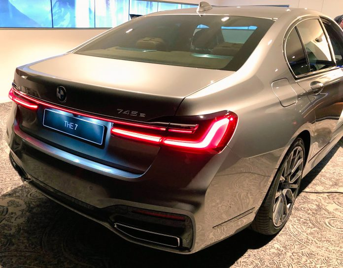 BMW 7 Series Rear
