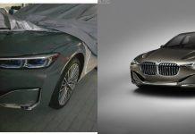 BMW 7 Series Facelift Leak