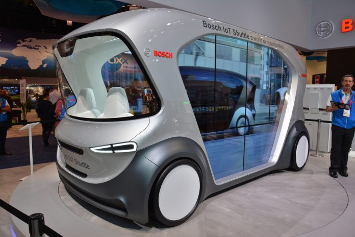Bosch Shuttle CES 2019