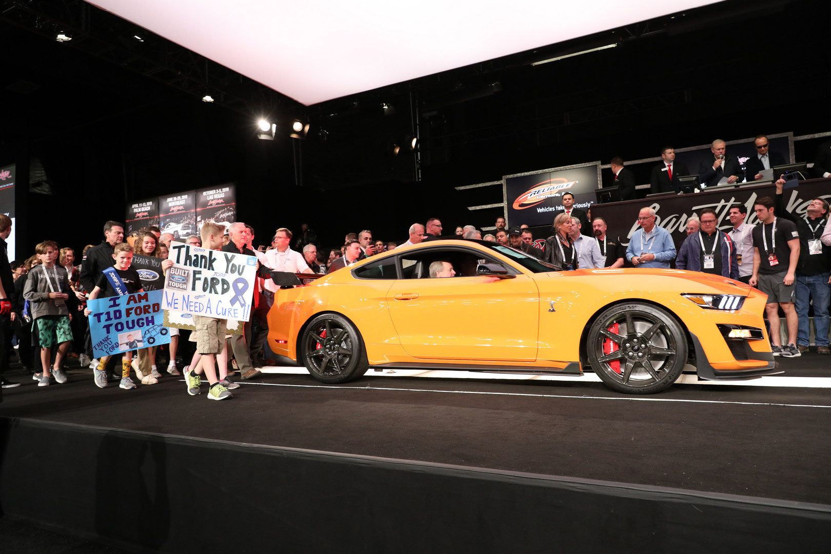 First 2020 Ford Mustang Shelby GT500 Sold for $1.1 Million