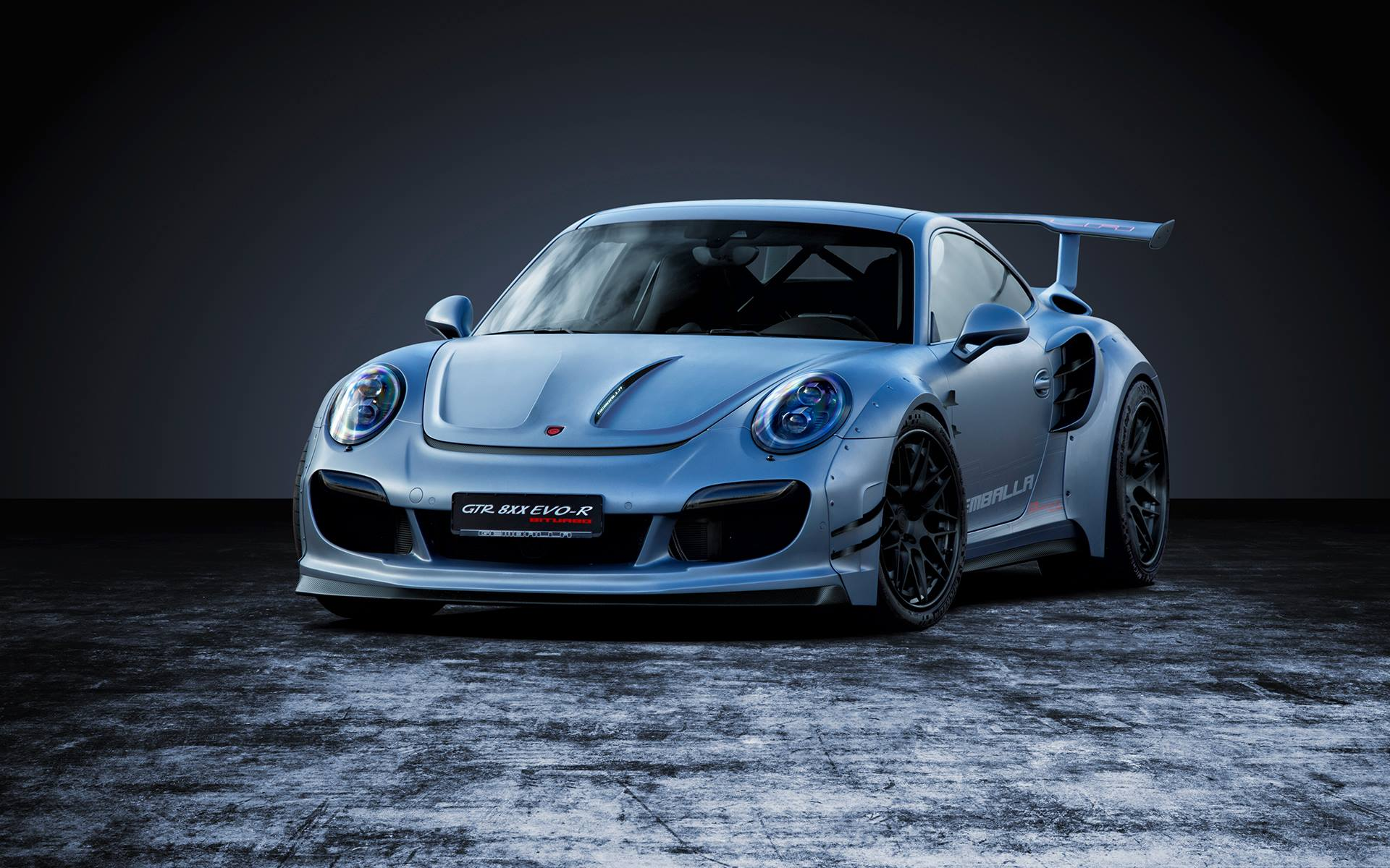 Gemballa GTR EVO-R: Porsche 911 Turbo with 818hp