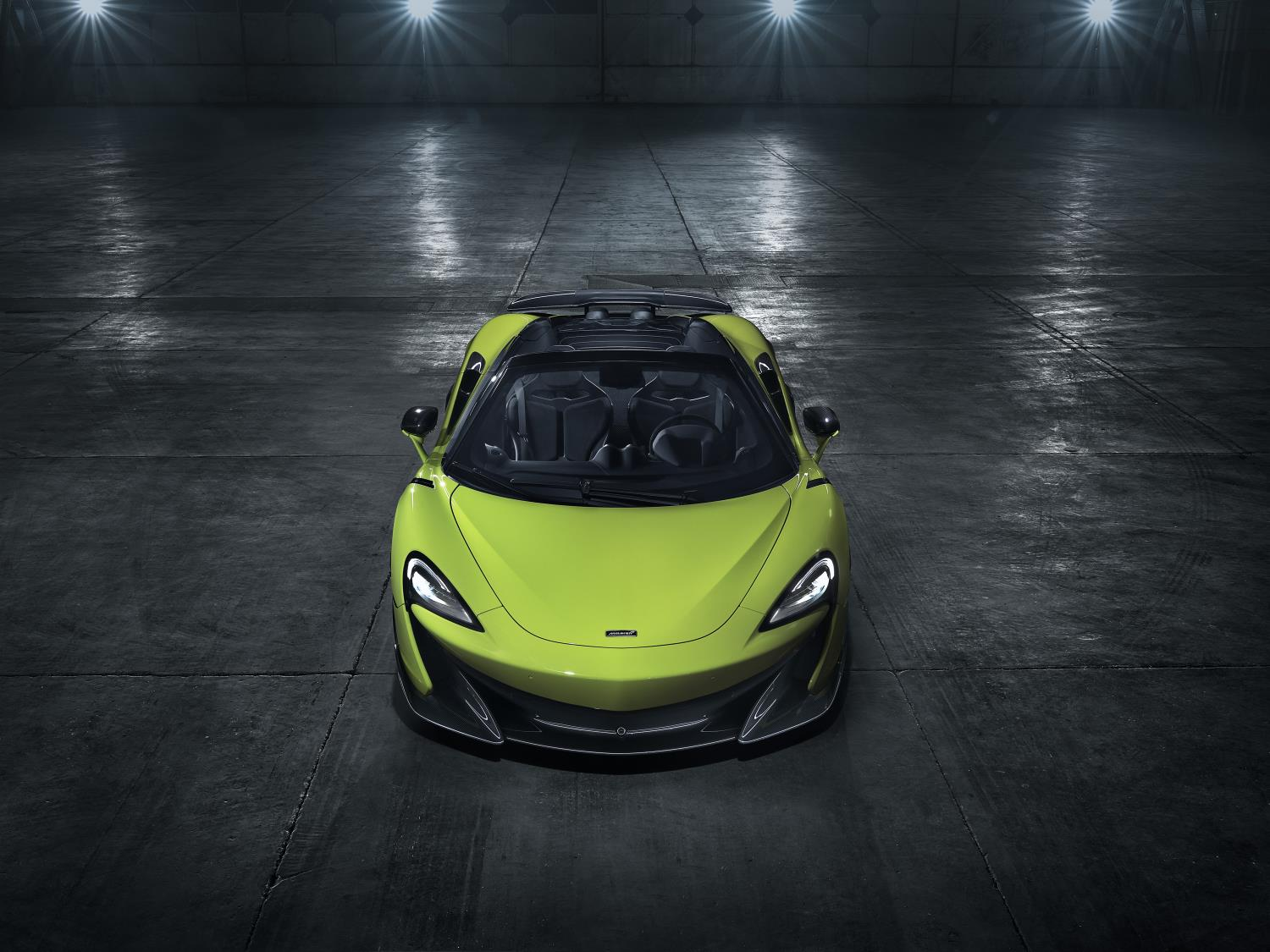 McLaren 600LT Spider Officially Revealed