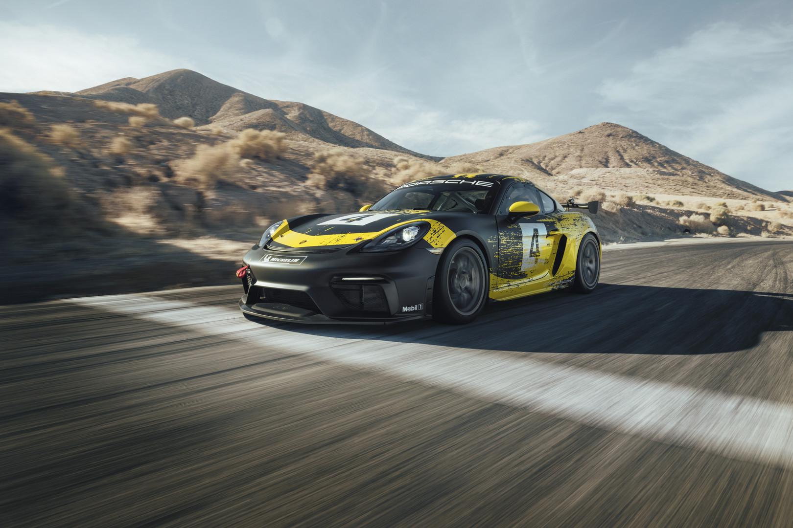 Porsche 718 Cayman GT4 Clubsport Officially Revealed
