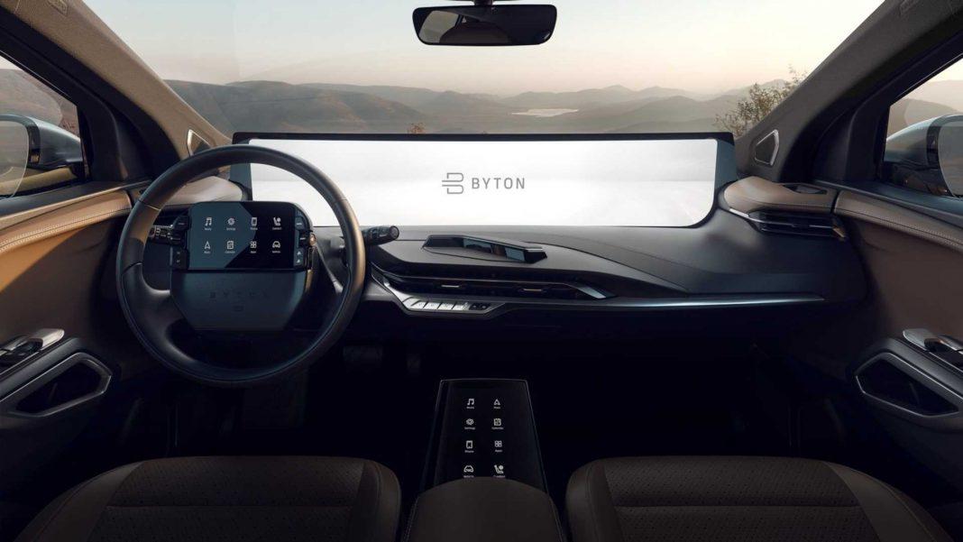Byton 48 inch screen