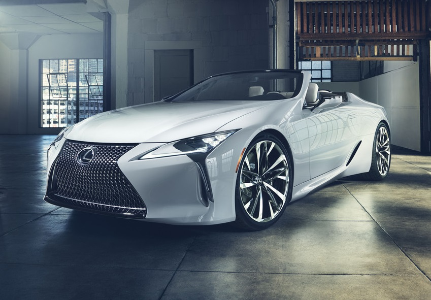 Lexus LC Convertible Concept Revealed