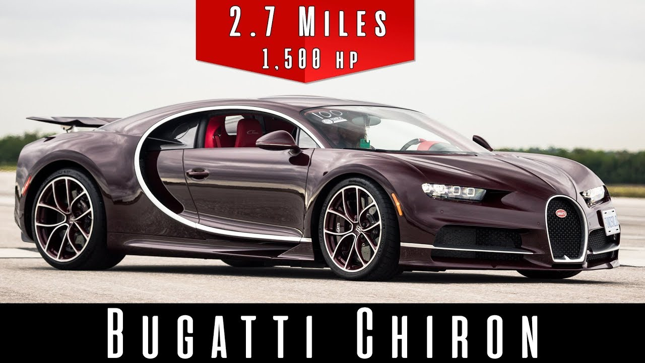 Video: Bugatti Chiron Hits 420km/h Top Speed in Florida