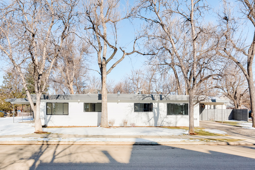 Open and Modern Boulder Duplex