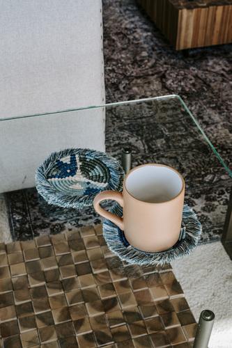 Vintage Terra Cotta Mugs (set of 2)