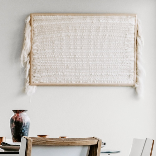 Framed Wall Weaving