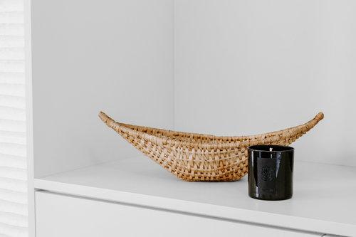 Boat-Shaped Basket