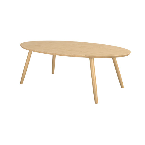 Oval Coffee Table - Latte