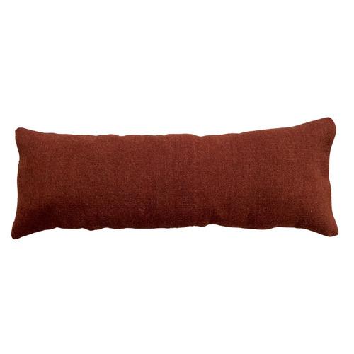Chocolate Lumbar Pillow