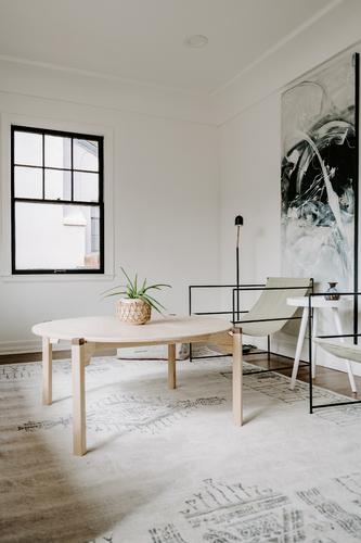 Handmade Round Coffee Table