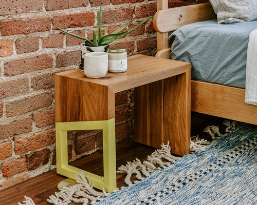 Maderas End Table - neon