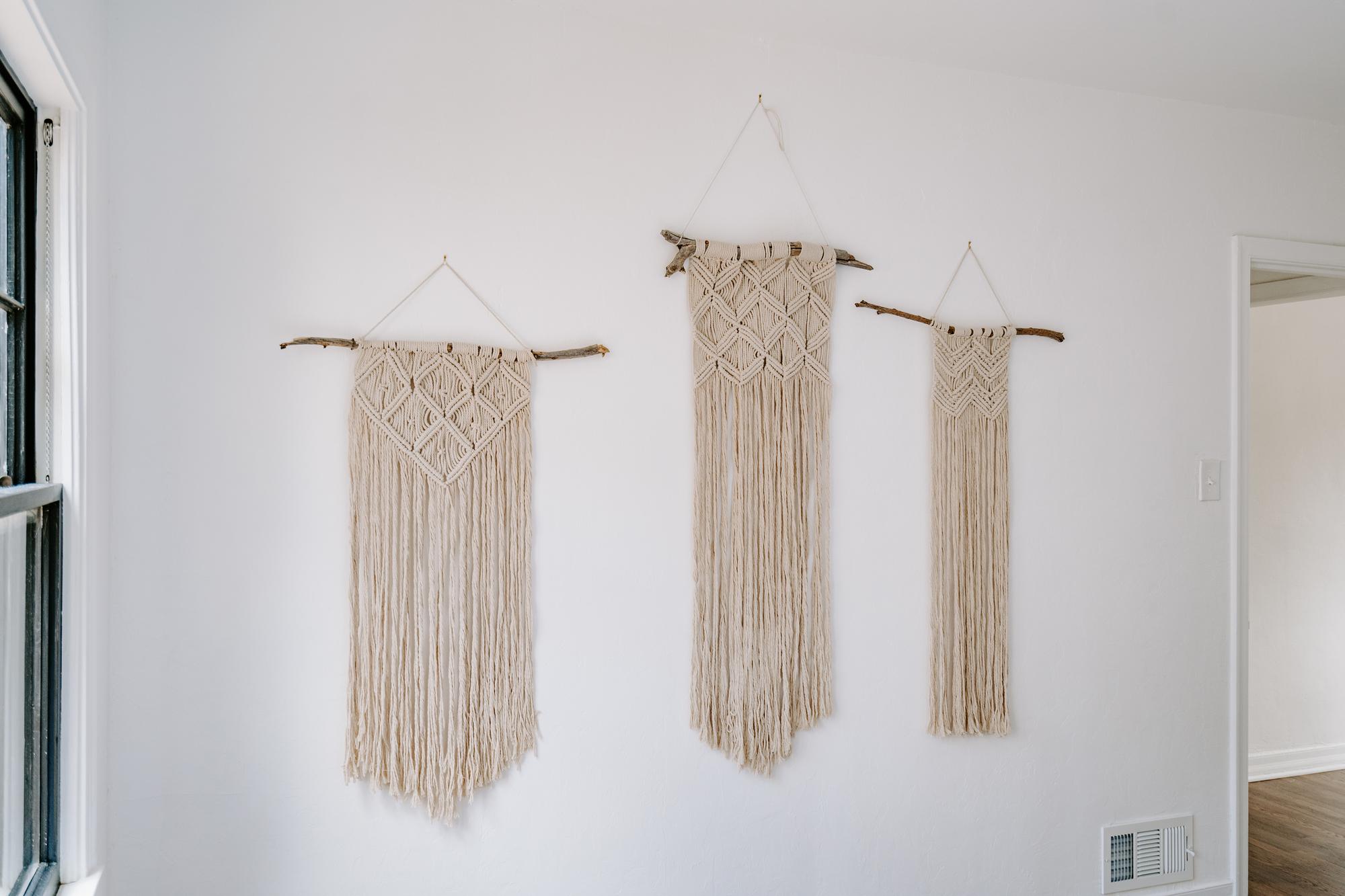 Small Macrame Wall Hanging